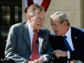 George H.W. Bush and Wife Barbara Hospitalized as 'Precaution' for Separate Health Issues
