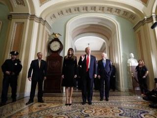 In Capitol Hill Meetings, Donald Trump Reveals His Top Priorities