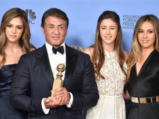 Sylvester Stallone's 3 Daughters Will Share Title of Miss Golden Globe