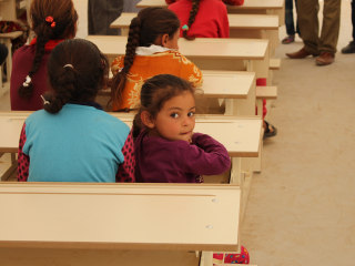 Free From Fear of ISIS, Iraqi Kids Return to Classroom