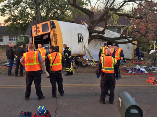 Speed Eyed in Chattanooga Bus Crash That Killed 5 and Injured 30