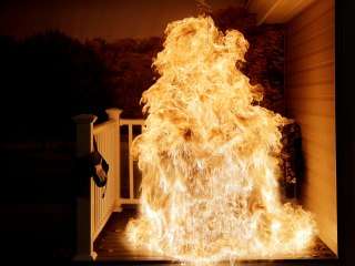 See What Happens When a Frozen Turkey Meets a Hot Deep Fryer