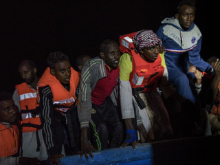 Sea Rescue Operation Highlights Migrants' Plight