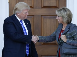 Senate Dems to Grill Betsy DeVos, Trump's Education Secretary Pick