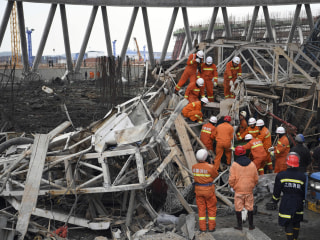 At Least 40 Killed in China After Construction Scaffolding Collapse