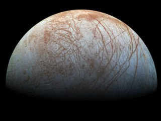 Hubble Finds 'Surprising' Activity on Jupiter's Moon Europa