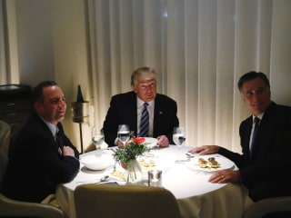 Mitt Romney Lavishes Praise on President-elect Trump, Whom He Once Called 'Fraud'