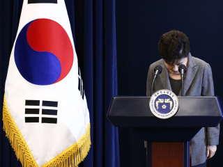 South Korea's Parliament Sets Up Presidential Impeachment Vote