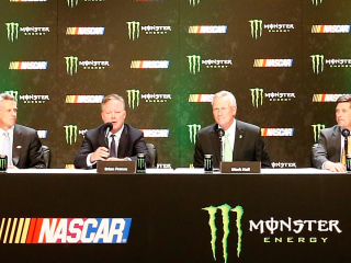 Monster Energy to Sponsor NASCAR's Premier Racing Series