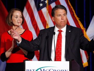N.C. Gov. Pat McCrory Concedes Election to Democrat Roy Cooper