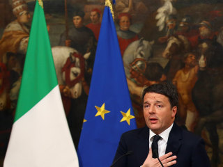 Italy Prime Minister Matteo Renzi to Step Down After 2017 Budget Passes