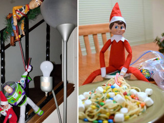 25 of the most creative 'Elf on the Shelf' displays