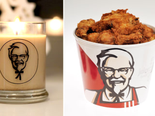 KFC's new candle will fill your home with the scent of fried chicken