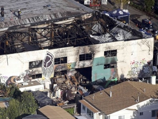 "Oakland 'Ghost Ship' Warehouse Manager Derick Almena Says ""Heart is Broken"""