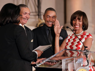 'Fierce Advocate' Catherine Pugh Sworn in as Baltimore Mayor