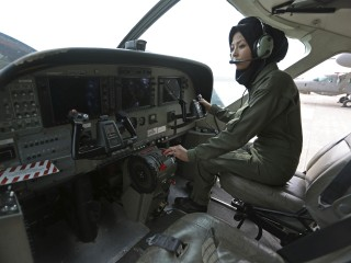 Afghan Woman, Safia Ferozi, Goes From Refugee to Military Pilot