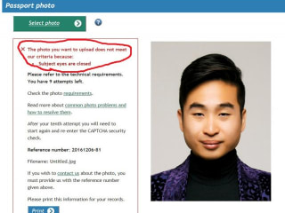 New Zealand Passport Robot Tells Asian Applicant to Open Eyes
