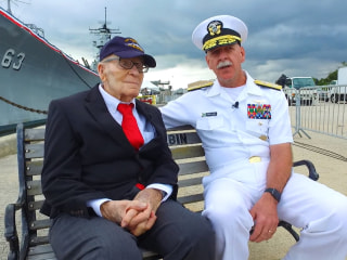 Veteran Makes First Return to Pearl Harbor 75 Years Later