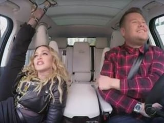 Watch Madonna Dance Her Way Through Carpool Karaoke with James Corden