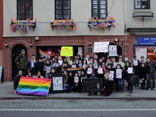 LGBTQ Activists Take Fight for Same-Sex Marriage in Taiwan Overseas