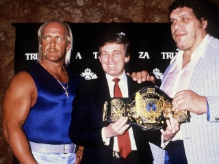 WWE Fan Donald Trump Has Never Tapped Out of Pro Wrestling