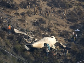Investigators Search Plane Crash Wreckage in Pakistan