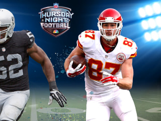 LIVE ON NBC: Raiders, Chiefs Clash in AFC West Showdown on TNF