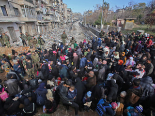 Aleppo: Hundreds of Syrian Men Feared Missing After Rebel Defeats, U.N. Says