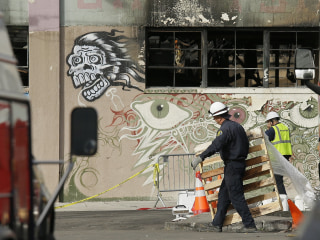 Fridge Ruled Out in Oakland Warehouse Fire Probe, No Sign of Arson