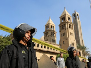 Bombing Near Cairo Coptic Christian Cathedral Kills 25