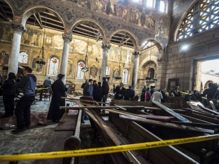 Egypt IDs Suspected Suicide Bomber Who Killed 24 Christians in Coptic Cathedral