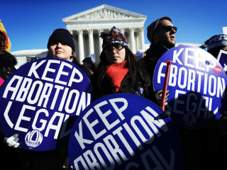 Report: Abortion Could be Outlawed in 33 States if Roe v Wade Overturned