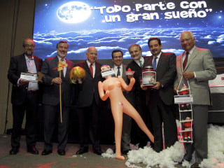 Chile: Lawmaker's Inflatable Sex Doll Gift Sparks Outrage