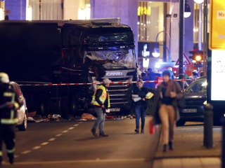 Truck Plows Into Christmas Market in Berlin, Killing 12, Injuring 48