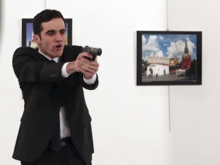Photographer Who Captured Ambassador's Assassination Recounts Shooting