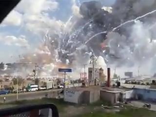 31 Dead, 72 Hurt as Explosion Destroys Fireworks Market Outside Mexico City