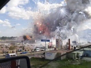 Mexico Fireworks Market Explosion Death Toll Rises to 32