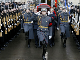 Assassinated Russian Ambassador Laid to Rest