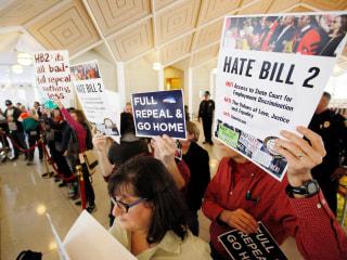 Opinion: North Carolina Lawmakers Crush Transgender People—Again