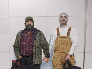 New Subway Station Has Public Art Rarely Seen: A Gay Couple