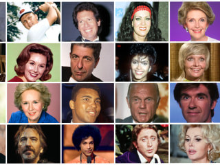 Celebrity Deaths in 2016: Some of the Many Famous Figures We Lost This Year