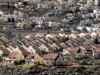 Construction of Israeli Settlements Continues in Occupied Palestinian West Bank