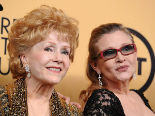Carrie Fisher and Debbie Reynolds Remembered by Family, Friends at Memorial 'Show'
