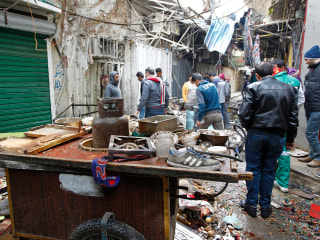 Baghdad Market Bombs Kill at Least 28