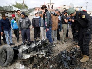 Suicide Bomber Detonates Truck at Day Laborer Pickup in Baghdad