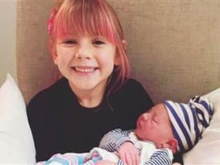 Pink Shares Adorable Pic of Daughter Willow with New Baby Brother