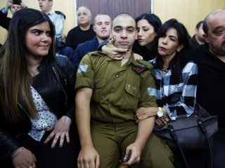 Israel Soldier Elor Azaria Convicted of Manslaughter in Killing of Palestinian