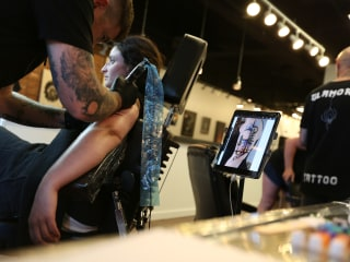 How a High-Tech Tattoo Artist Is Taking His Industry Digital