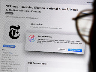 China Internet Censorship: New York Times Apps Removed