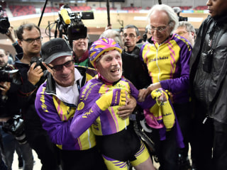105-Year-Old French Cyclist Sets World Record